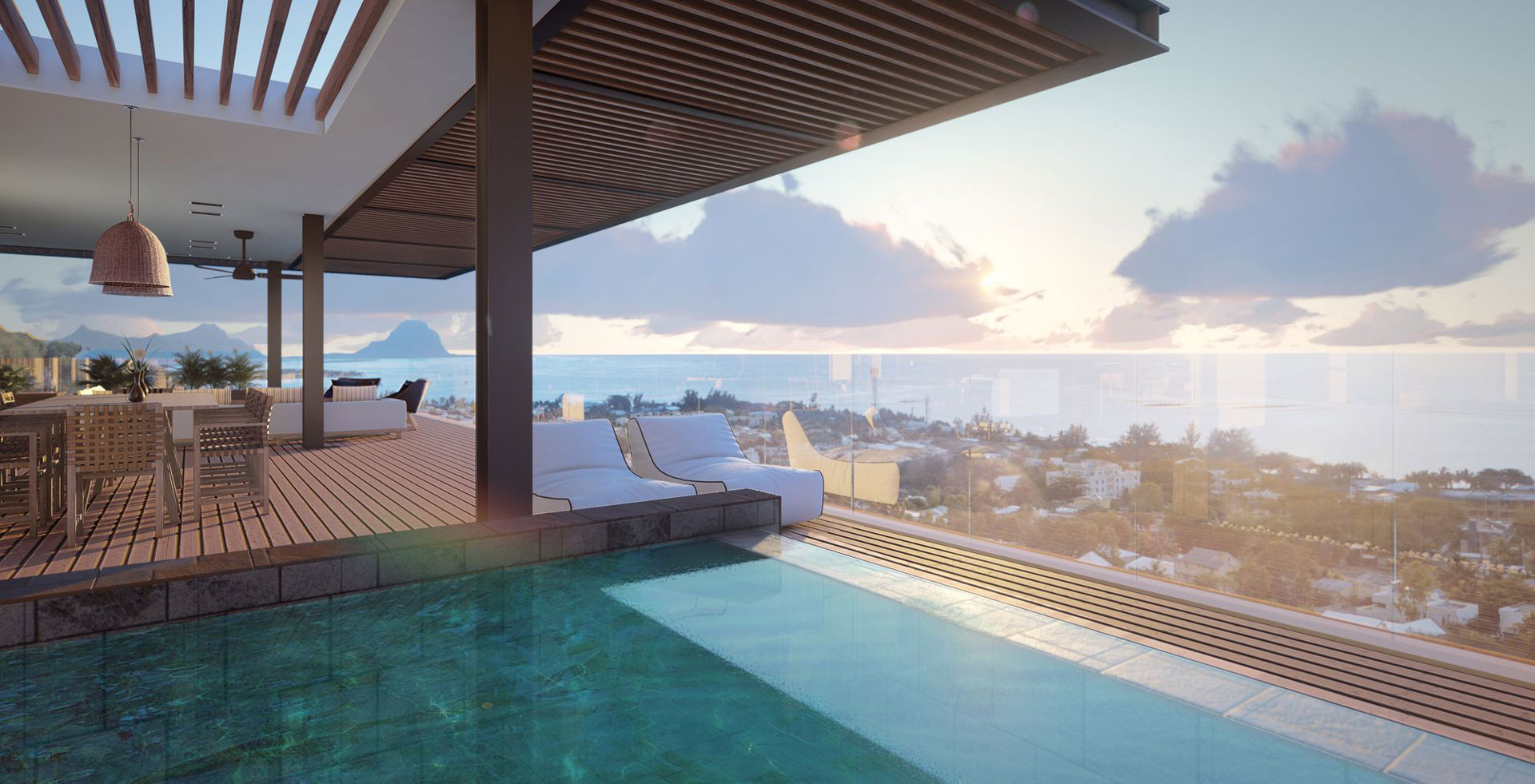 Legend Hill Penthouse Swimming Pool View Laggon